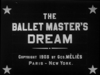 The ballet master's dream movie title