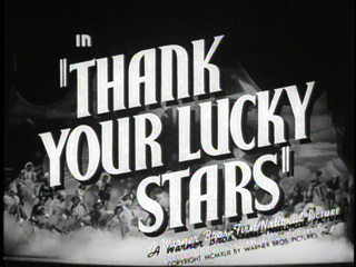 Thank your lucky stars trailer title
