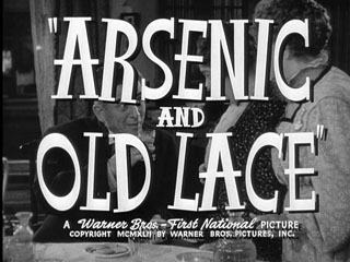 Arsenic and old lace trailer title