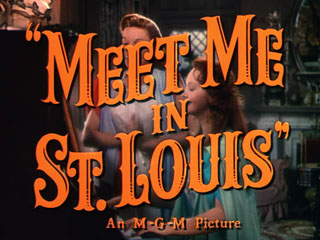 Meet me in St. Louis trailer title
