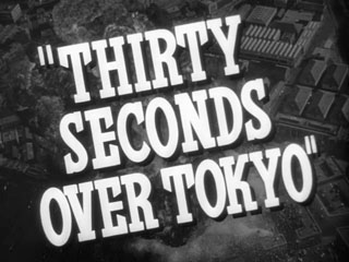 Thirty seconds over Tokyo trailer title