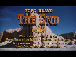 Escape from Fort Bravo movie title