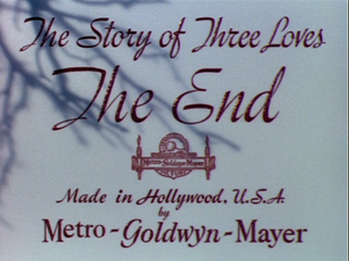 The story of three loves movie title
