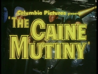 The Caine mutiny trailer title