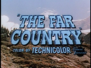 The far country trailer title