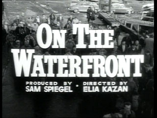 On the waterfront trailer title
