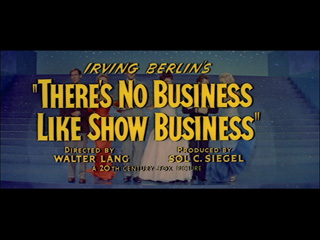 There's no business like show business trailer title