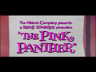 The pink panther trailer title