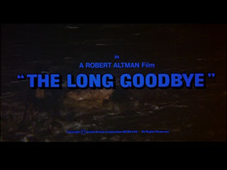 The long goodbye movie trailer title