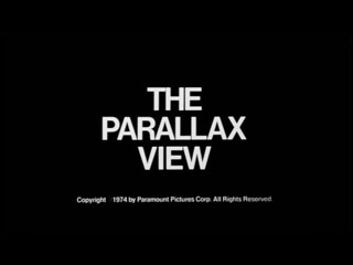 The Parallax view movie trailer title